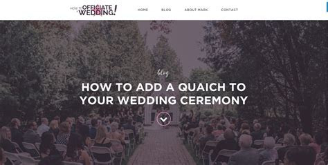 How to Add a Quaich to Your Wedding Ceremony