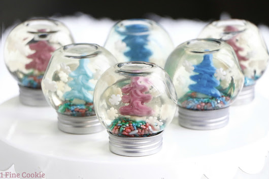 Snow Globe Jello Shots