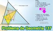 Problema de Geometría 137. Triangulo Órtico, Alturas, Circunferencia Inscrita, Puntos de Tangencia, Perpendicular, Paralelogramo, Puntos Colineales.
