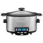 Cuisinart - Cook Central 4-Quart Multicooker - Stainless Steel