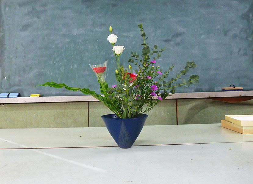 【盛花】ユーカリ、ガーベラ、トルコキキョウ【2013_09_28】