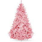 Best Choice Products 6' Artificial Christmas Full Fir Tree with Stand, Pink