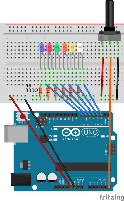 A simple circuit, an Arduino, and Haskell - dave^2 = -1
