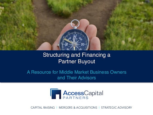 Structuring and Financing a Partner Buyout