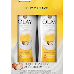Olay Ultra Moisture Shea Butter Body Wash - 2 pack, 16 oz bottles