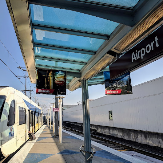 Ranking U.S. airport rail connections