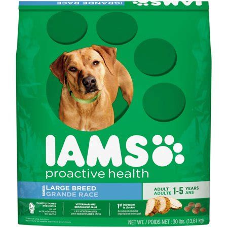 iams proactive health large breed adult dry dog food