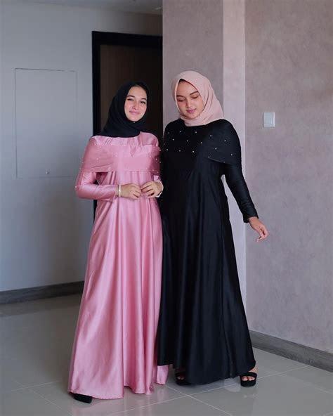 model gamis syari terbaru  modis stylish