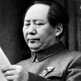 Chairman Mao of the Communist Party of China reading the document that founded the People's Republic of China in October 1949. The country celebrates its 60th anniversary in 2009. by Pan-African News Wire File Photos