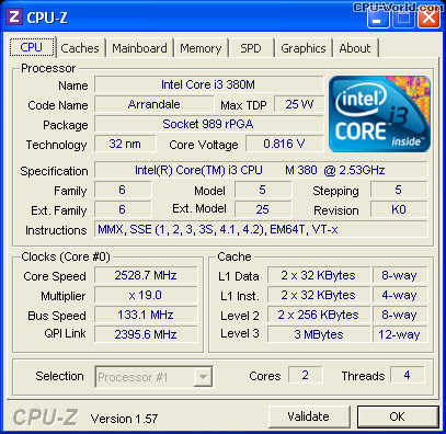 Intel Core I3 M380 Graphics Driver Windows 10