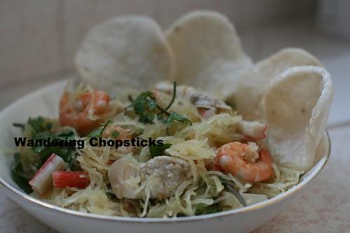 Goi Bi Soi Tom Thit Heo (Vietnamese Spaghetti Squash Salad with Shrimp and Pork) 10