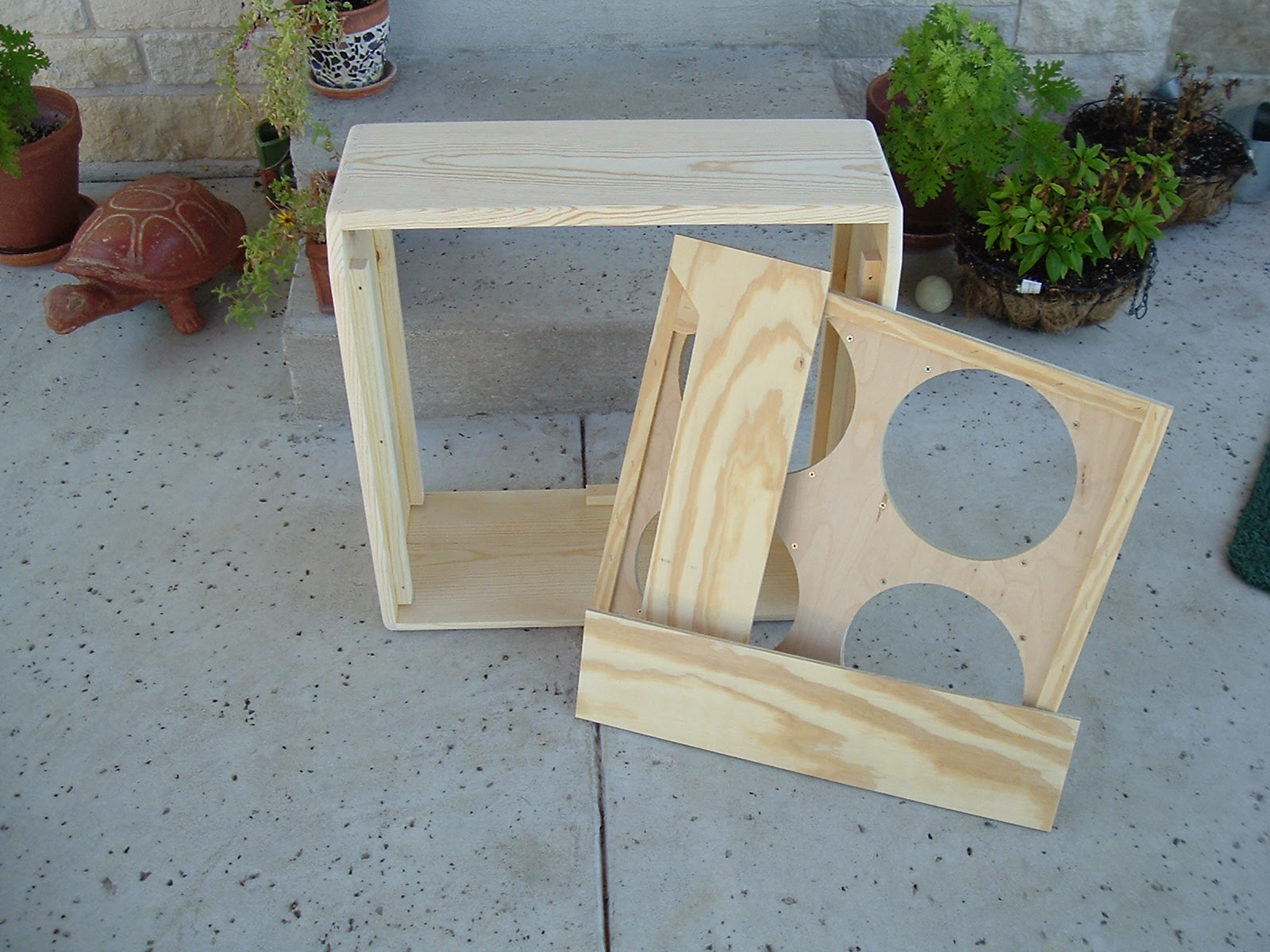 CABINETS, FURNITURE, WOODWORKS: FINISHING BARE WOOD, PRATT AND.