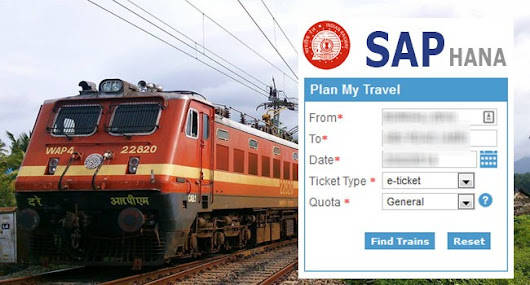 SAP HANA set to change the face of Indian Railways Ticketing System