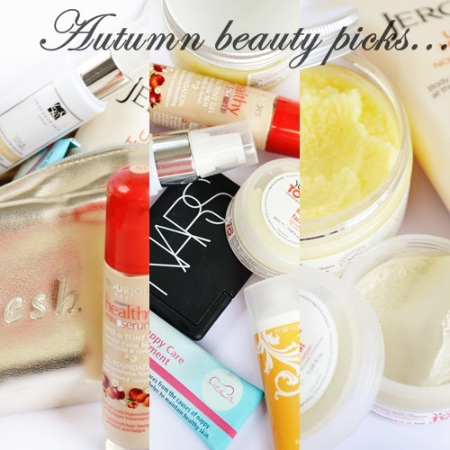 Autumn Beauty Products