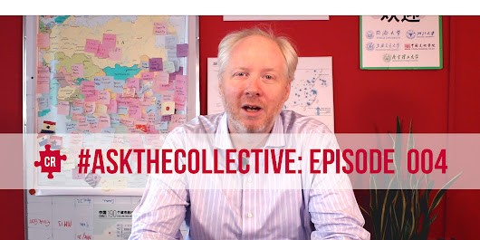 Bike Sharing in China, China's 5-Year Plans, & How to Fundraise for Charity | #AskTheCollective 004