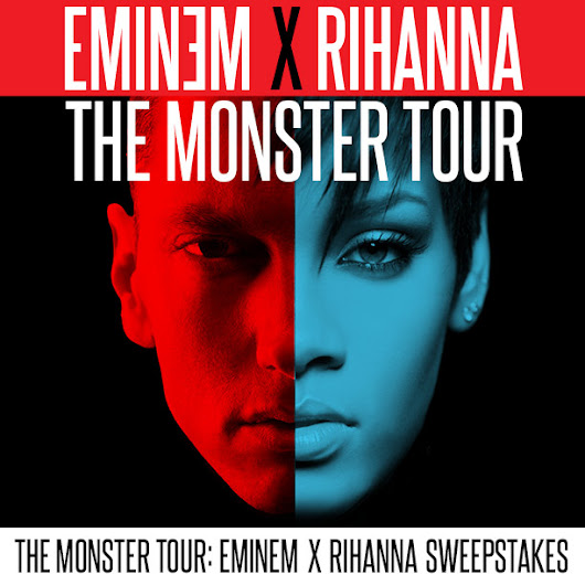 The Monster Tour Eminem X Rihanna Flyaway Sweepstakes