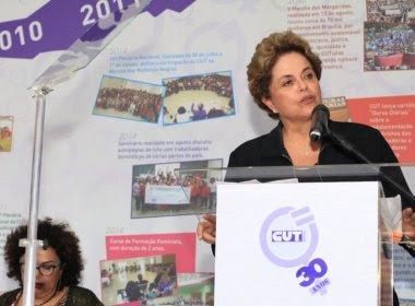 Dilma Rousseff descarta presidência, mas cogita ser candidata a senadora ou deputada