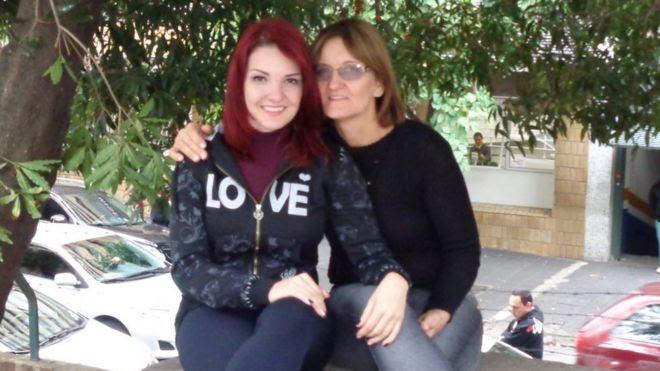 Maíra e mãe, Maria