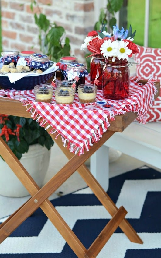 Patriotic Porch Party