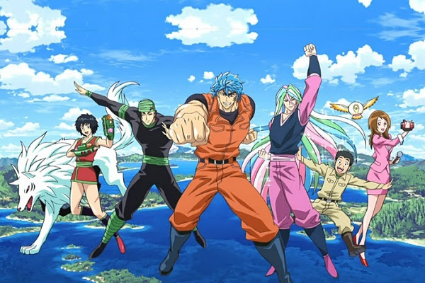 Toriko Anime Endings (ED)