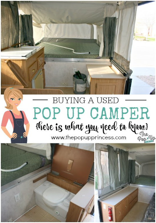 Buying a Used Pop Up Camper - The Pop Up Princess