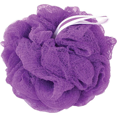 The Bathery Exfoliating Bath Sponge - Purple