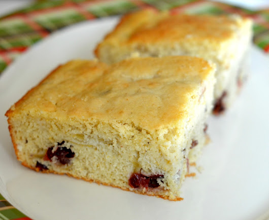Apple Cranberry CornBread Recipe Thanksgiving Holiday Recipe