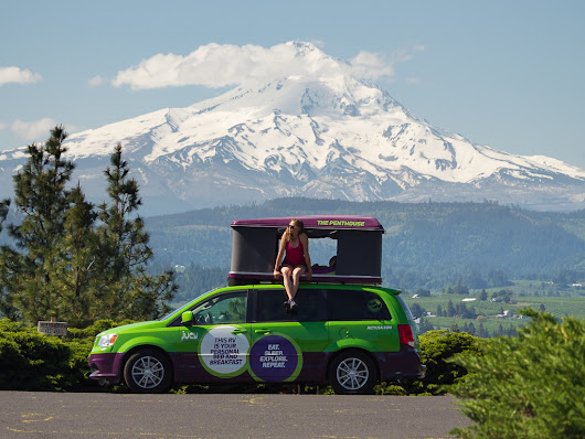 Oregon Road Trip with Jucy USA