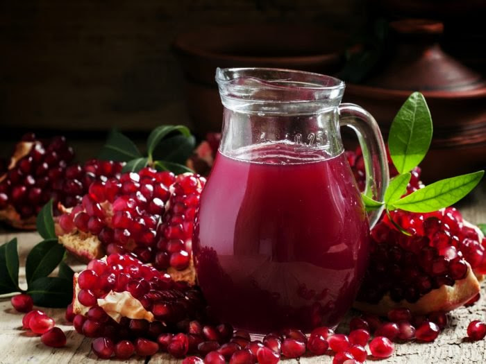 Pomegranate juice protects from kidney diseases!!