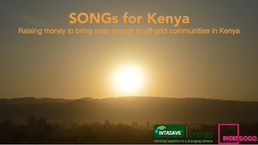 SONGs for Kenya - a crowdfunding campaign