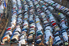 Bakra Eid Namaz Bandra Station Road 2010 by firoze shakir photographerno1