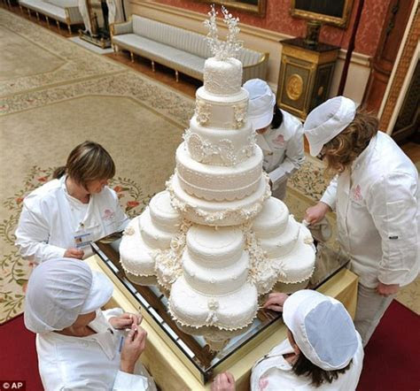 Five Slices Of British Royal Wedding Cakes Go Under The
