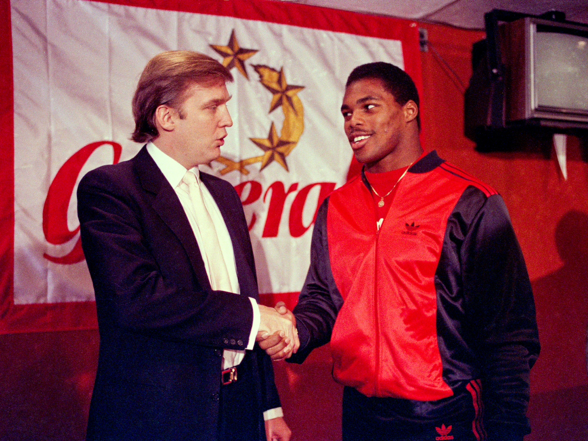Trump's enterprise also stretched out into sports, where he was the original owner of the New Jersey Generals of the United States Football League.