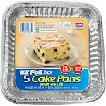 Hefty EZ Foil Cake Pans - 5 count