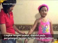 Cara mengukur Badan Anak