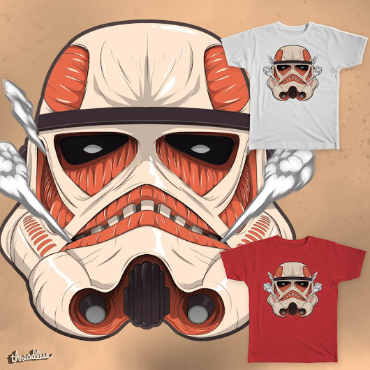 Colossal Trooper on Threadless