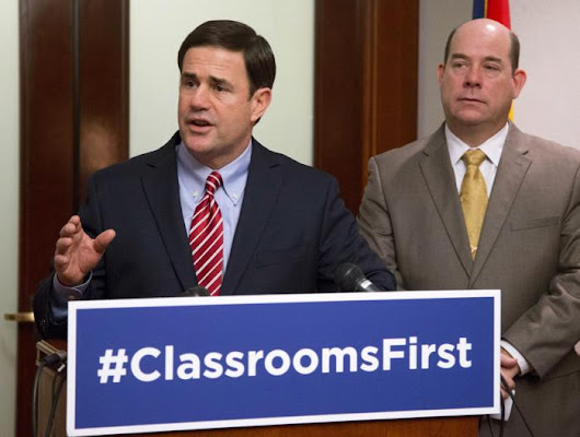 Ducey's budget plan cuts university funding by 10 percent