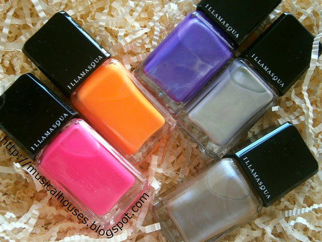 illamasqua nail polish collide gamma poke hemlock bacterium