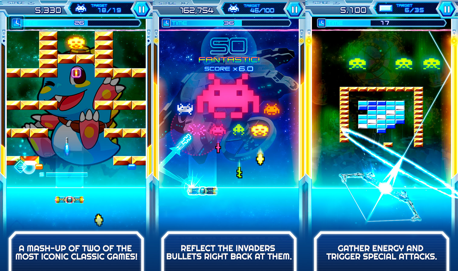 Arkanoid vs. Space Invaders is a thing of beauty screenshot