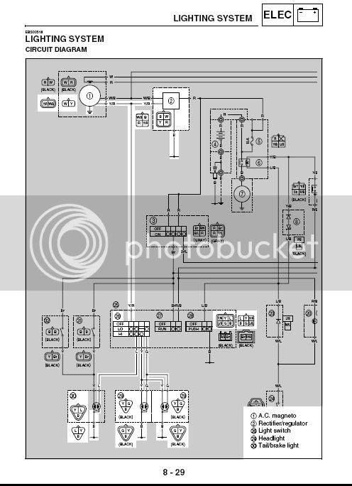 Yamaha Raptor 700 Wiring Diagram