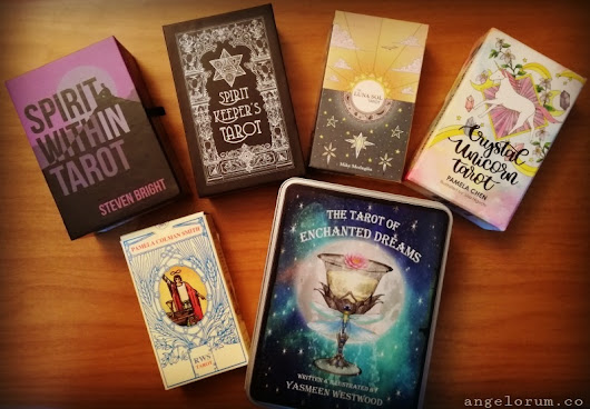 Top Six Tarot Decks of 2018 ⋆ Angelorum - Tarot and Healing