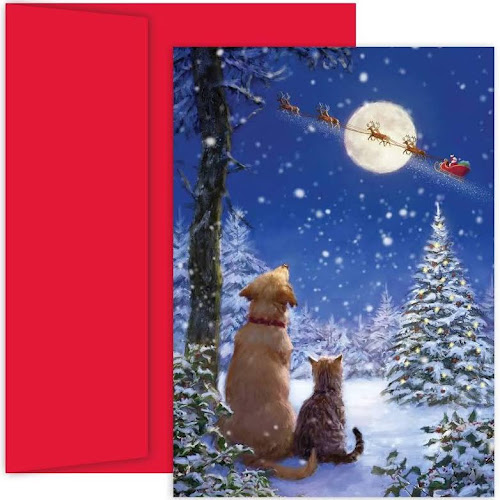 Masterpiece Studios Boxed Holiday Card - and to All A Goodnight