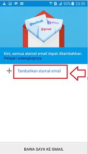 Cara bikin email gmail baru