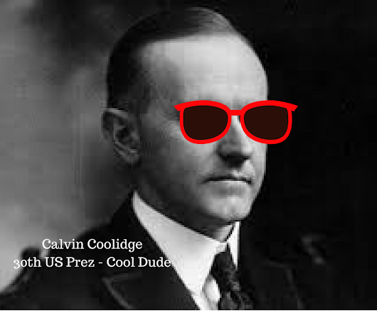 This Is Why Calvin Coolidge Is A Cool Dude! - Heather Christie Books