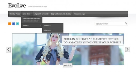 EvoLve Blog and Magazine WordPress Theme - Premium WordPress Themes - Theme4Press