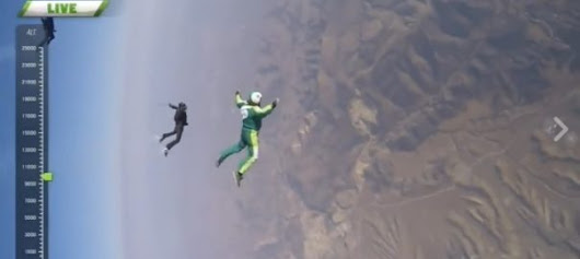 First Ever NO-PARACHUTE Jump Pulled Off By Veteran Skydiver! - Lee Wilson