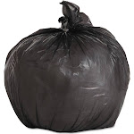 Boardwalk Garbage Bags, 4 Gallon, Black - 1000 count