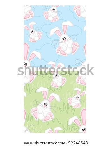 cute easter bunny pics. stock vector : Cute Easter
