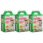 Fujifilm Instax Mini Instant Film (3 Twin Packs 60 Total Pictures)