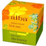 Alba Botanica Hawaiian Papaya Enzyme Facial Mask - 3 oz jar